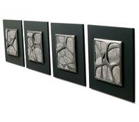 glamorous design ideas interior decor wall art abstract plant oil painting