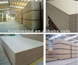 Big Size Plain MDF Iran 1830*3660*16mm
