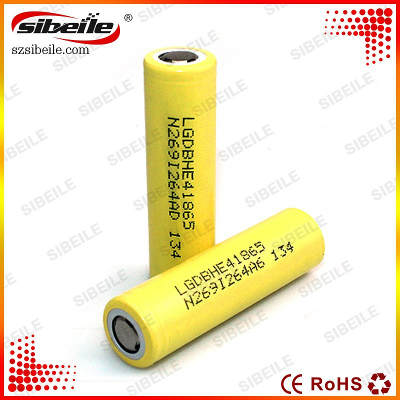 LG HE4 18650 35A rechargeable battery gb t18287 battery made in Korea