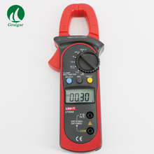 F04976 UNI-T UT204A AC/DC LCD Digital Clamp Multimeter DMM 600A Voltage Current Resistance Frequency Test Meter