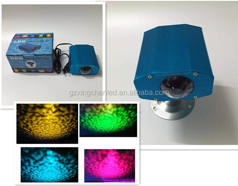 New Christmas effect light Mini LED RGB water ripple effect for home lighting and led lighting business