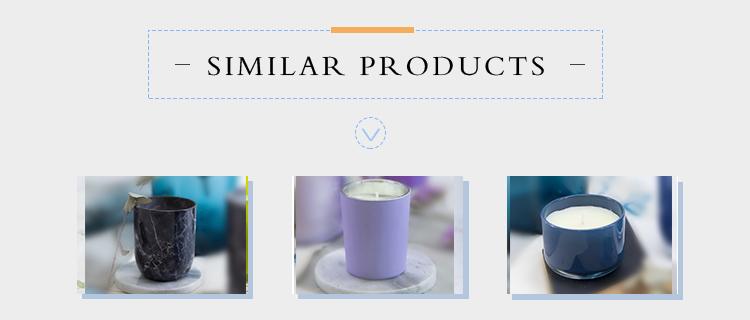 Venta al por mayor de velas perfumadas personales blancas de cera de grado premium de moda baratas