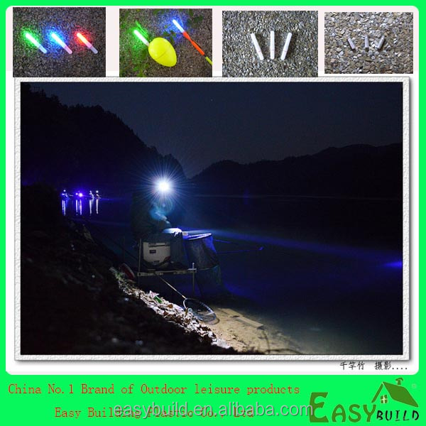 color green and red led glow sticks for night fishing (EB4535 and 3020)
