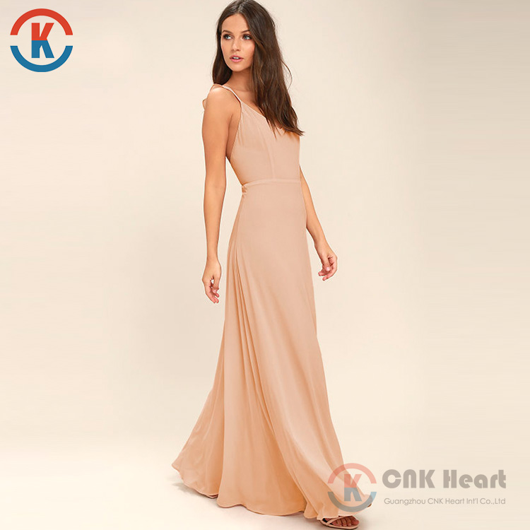 cc76e542a3e7 fashion chiffon Women clothing wholesale sleeveless long summer maxi dress  plus size