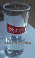 Slim Shot Glass/Pub Mixing Glasses/Custom vadka shot glassware