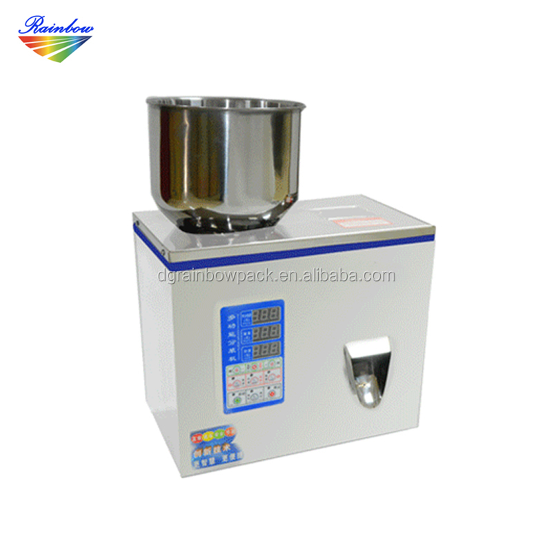 Factory price semi automatic granule filling machine