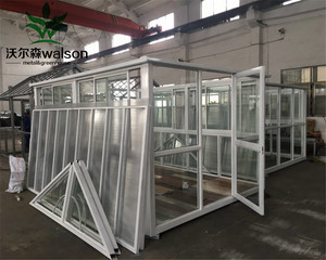 Factory Price High Quality PC Polycarbonate Covered Outdoor Green Houses/Garden Greenhouse