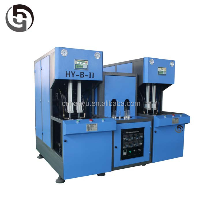 semi automatic pet bottle stretch blowing machine price/small bottle making machine