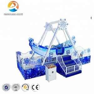 Factory price china manufacturer mini viking ship pirate boat theme park amusement rides for sale