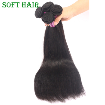 Qingdao Hair Factory Wholesale Top Quality Straight 10a Cuticle Aligned Human Hair Weave Soft Unprocessed Virgin Brazilian Hair