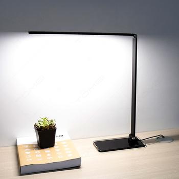 Modern Office Table Lamp Adjule Led Folding Reading Desk With Gl Base