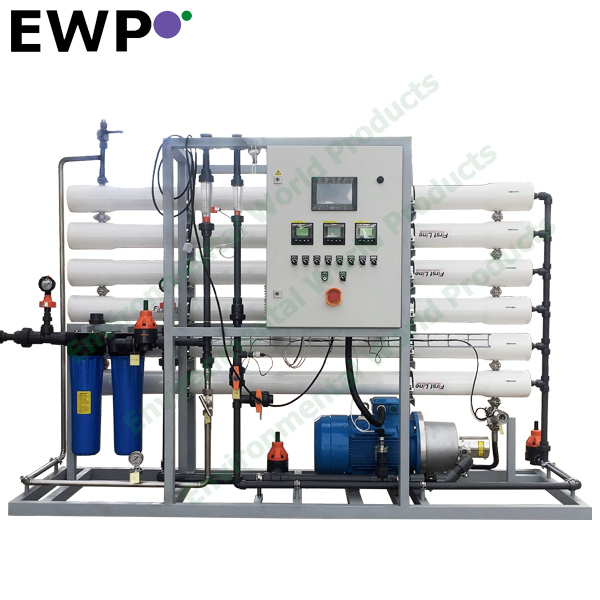 portable reverse osmosis 1tph water inverse infiltrate water system for factory