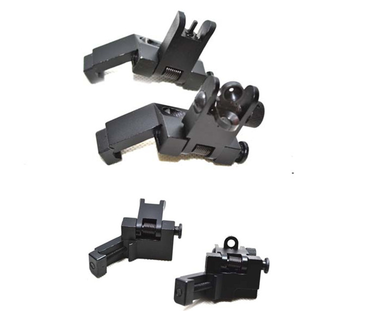 Ar 15 Front And Rear Flip Up 45 Degree Rapid Transition Backup Iron Sight -  Buy Flip Up Iron Sight,45 Degree Rapid Sight,Ar15 Part Product on