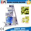 Full automatic packaging machine combined with Four heads linear weigher
