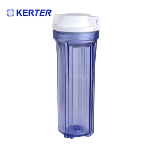 10 Inch RO Water Purifier Filter Cartridge Blue Clear Housing/House