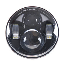 "5 3/4"" 5.75 inch Motorcycle Daymaker Round LED Headlight Projector Lens IP 67 driving light For Harley Street BOB Dyna Fat Bob"