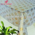 The latest popular pvc lace ruffled table cloth