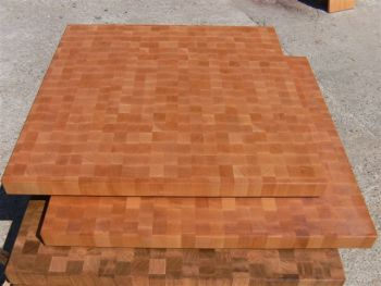 End Grain Wood Table Top