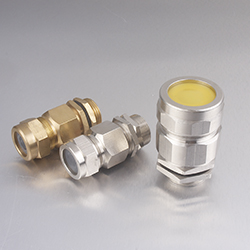 1 2 NPT G1 2 Brass Nickel Plated Cable Gland