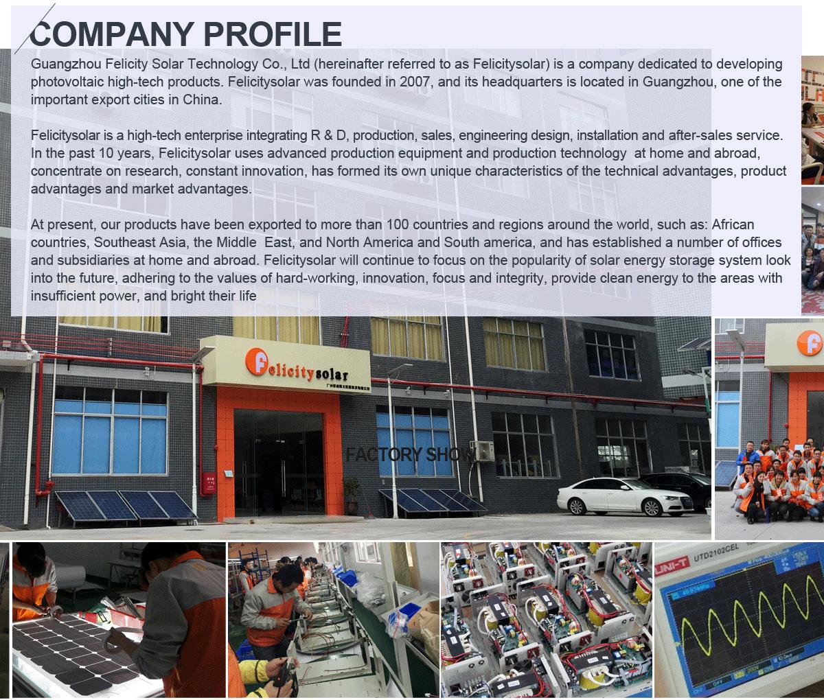 Guangzhou Felicity Solar Technology Company Limited - Solar Power ...