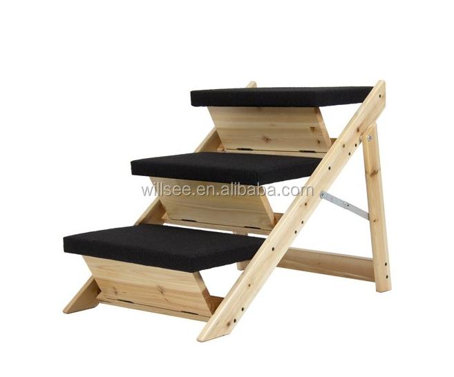 Ps 1016 port til alfombra de madera perro mascota pasos for Escalera de cocina plegable