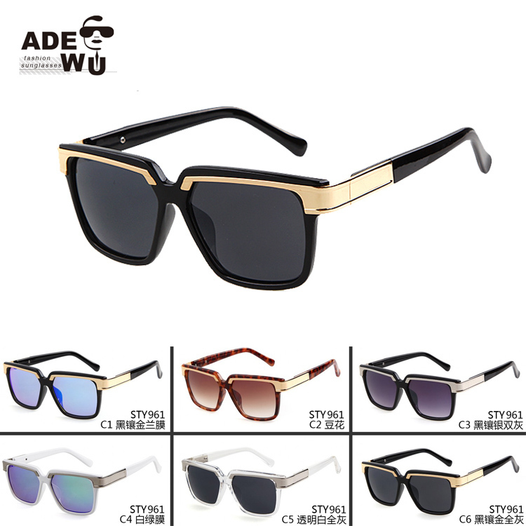 ce83ddbac7a4 Gold Frame Sunglasses Mens