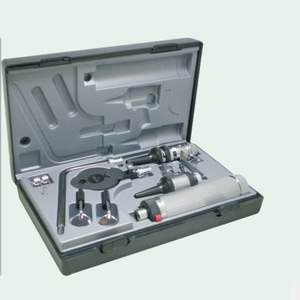 good price plastic otoscope ophthalmoscop riester set
