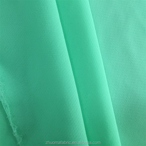 Wholesale 100% polyester organza chiffon fabric cheap