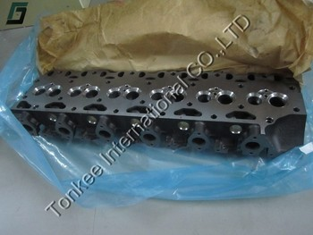 20489008 original used DEUTZ D7D with intercooling cylinder head for EC290 hydraulic excavator engine parts