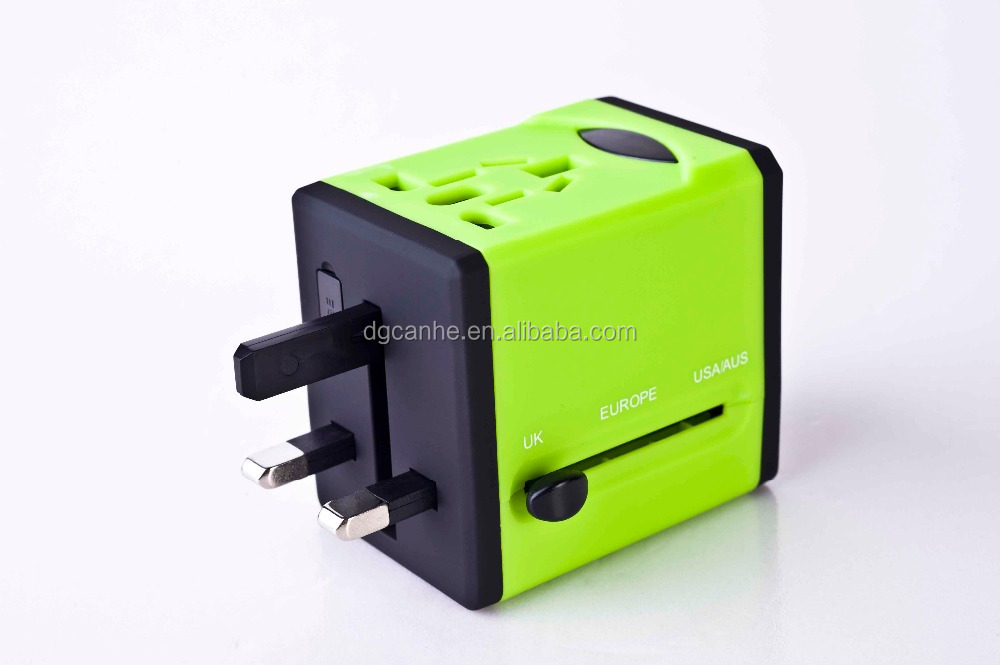 UK travel adapter to universal travel adapter for promotion gift