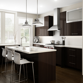 Hmr Particle Board Carcass Shiny Kitchen Cabinets - Buy ...