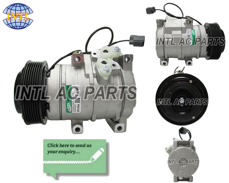 denso 10S17C  ac compressor fit for Honda Accord/ civic / crv 2004-2008 2.2 cdti diesel