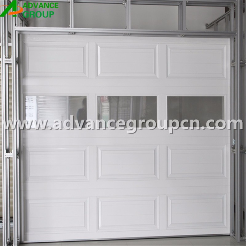 Very Quiet Operation Sectional Steel Auto Garage Door