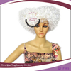 white cheap heart shape fashion carnival halloween party wigs