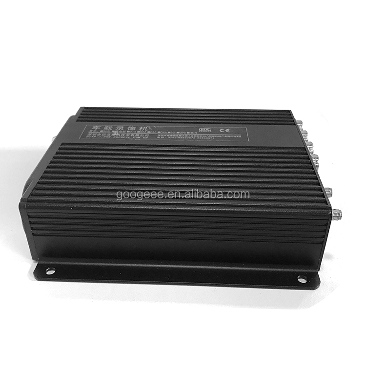 Googeee car vehicle blackbox dvr mobile video dvr h.264 dual SD Card 4-8CH with cheap price for Africa