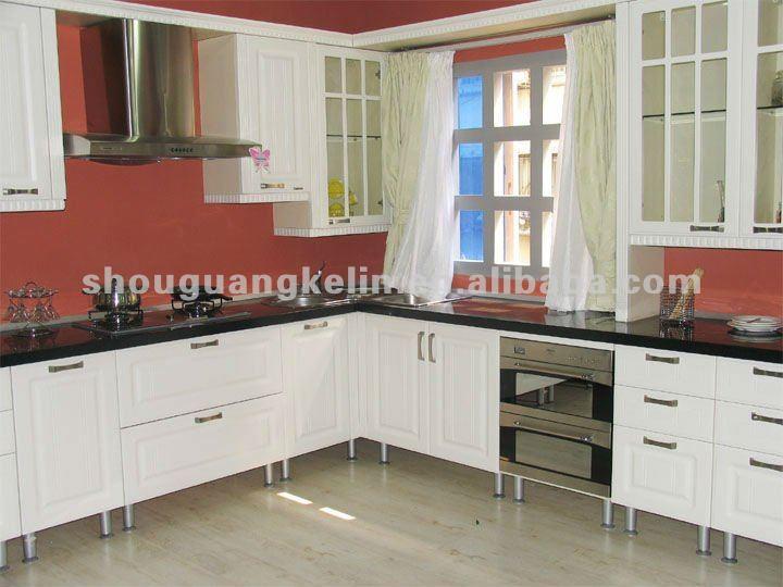 Melamina mdf acabado mueble cocina-Armarios de madera ...