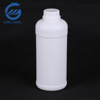 1000ml chemical round plastic bottle with gaskets