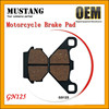 GN125 Motorcycle Brake Pad for Suzuki Motorcycle Brake Parts