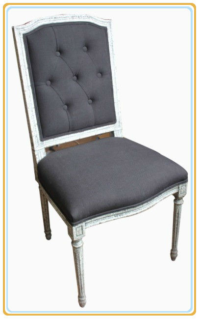 Restaurant Furniture Manufacturer Antique Fabric Wood Restaurant Chair
