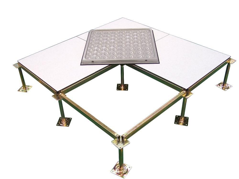 Antistatic raised flooring raised flooring for airport for Elevated floor