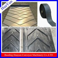 v type cleat hight 6mm-25mm chevron conveyor belt