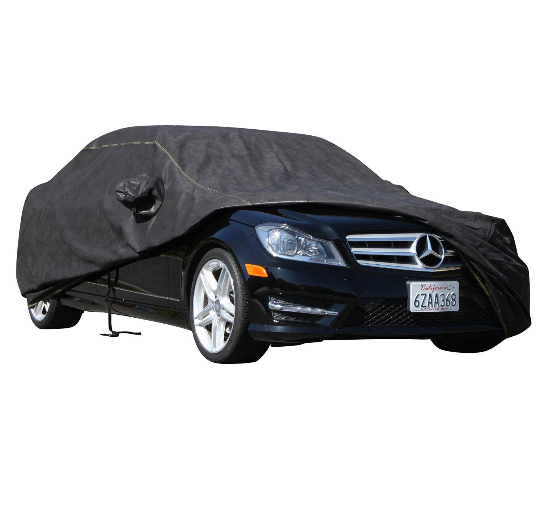 XtremeCoverPro 100% Breathable Car Cover for Select Toyota Rav4 Rav4 EV 2015 (Jet Black)