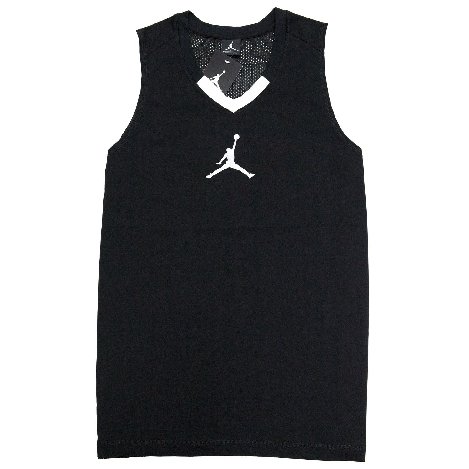 bb9a185ce2a8 Get Quotations · Nike Men s Jordan Rise Jersey 4 Sleeveless Shirt