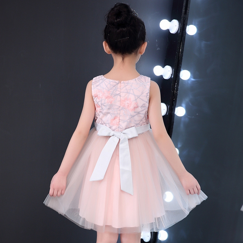 ed6d6fc717a pretty princess summer clothes baby party dresses in bangalore European  style suits dress for a flower