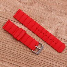 Аксессуары для часов, силиконовый ремешок, 20 мм, с пряжкой, для детей, для женщин и мужчин, ремешок для часов, подходит для всех брендов(Китай)