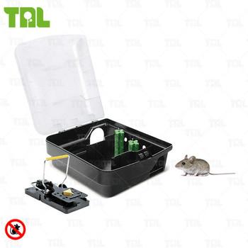 Tnl Plastic Rat Snap Trap And Bait Rodent Bait Station