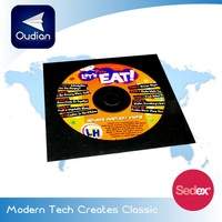 OEM Custom Cheap Paper Eco-friendly CD Cover