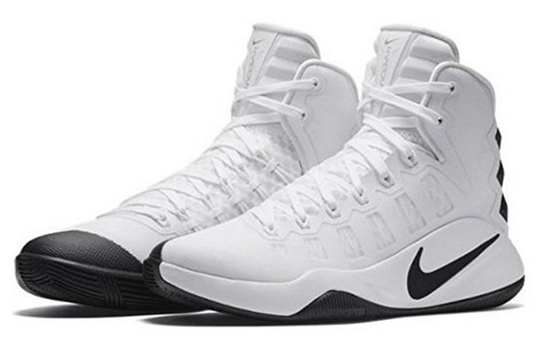 3b89f3465bf Nike Men s Hyperdunk 2016 TB Basketball Shoes 844368 100 White Size 13