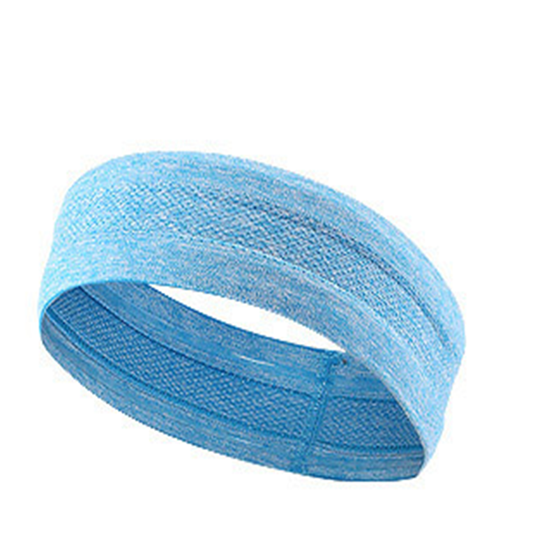 Cotton material customized sport spandex hair band headband for sport people