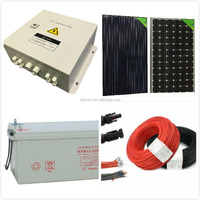 for air conditioning,refrigerator,tv, Solar energy 1kw 2kw solar panel system 3kw 4kw 5kw 6kw kit energy solar